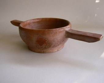 Rustic Two Handled Cup Form