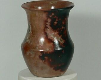 Saggar Fired Hand Burnished Vase