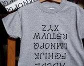 Alphabet Tee Shirt