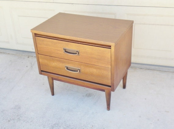 17 Reasons Why Redlicks Two drawer Mid Century End Table