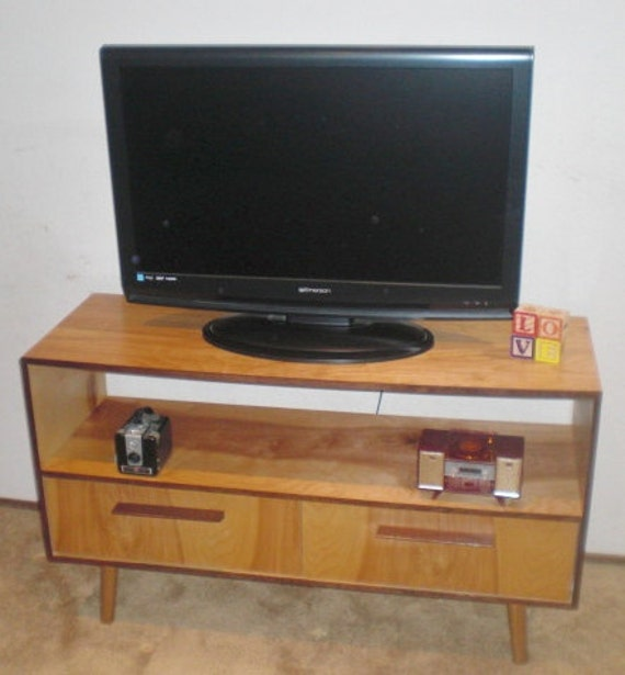 Mid Century Inspired TV Stand/Credenza