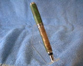Fiji wood Fern Green, Fountain Pen