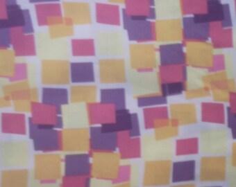 SALE  Hammil Textiles Limited Pattern Multi Color Block Fabric