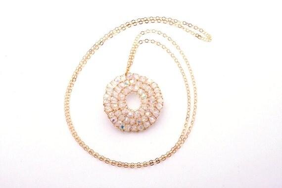 Sparkling Gold Filled Necklace