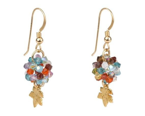 Autumn Swarovski Earrings