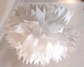 Paper pompon // Pompon en papier (L)