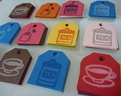Tea Time Gift Tags (pack of 30)
