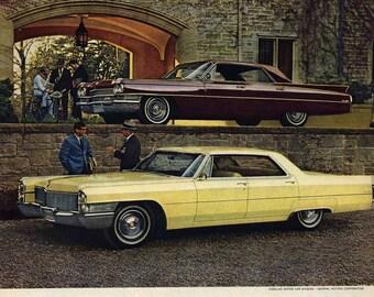 Cadillac - Magazine Ad, 1965