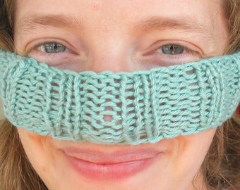 NosEwaRmer/ EaRwarMer/ HeaDbaNd PATTERN, For Really Cold Noses