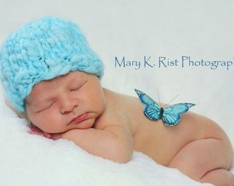 Nolan Newborn Hat PATTERN, for Photo Prop, Sell What You Make