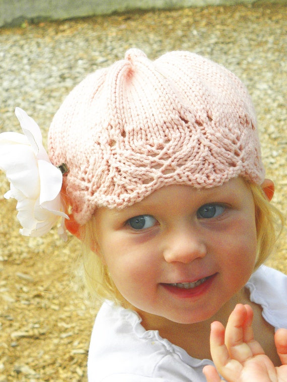 One Skein Gracie Hat PDF PATTERN-for Babies, Children, Adults, Chemo Hats