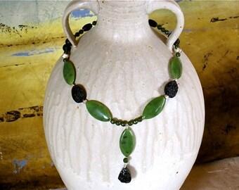Stunning Jade Necklace