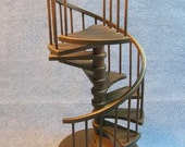1/12 scale 8 inch Spiral Staircase Architectural Model