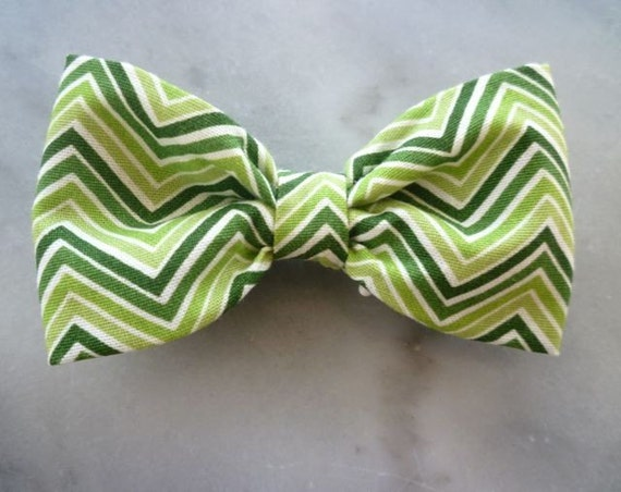 Ziggy Zaggy Boy's Bow Tie - clip on - St. Patricks Day outfit