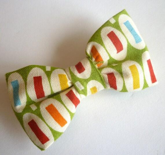 """Green """"Pez"""" Boy's Bow Tie"""