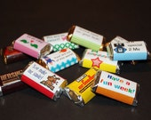 Hershey Miniature Lunch Box Love Notes Wrappers Printable