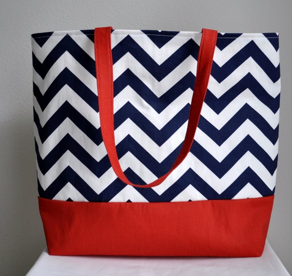 Bridesmaid Gift Totes, Beach Tote, Nautical, Chic Tote Bags- MADE to ORDER-Any quantity