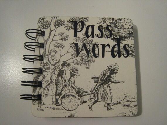 Victorianish Password Book