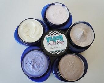 Sugar Scrub Soap 8oz - You Pick Scent - Body Polish - Bath Butter - Vegan bath guest
