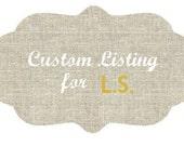 Custom Listing for LS