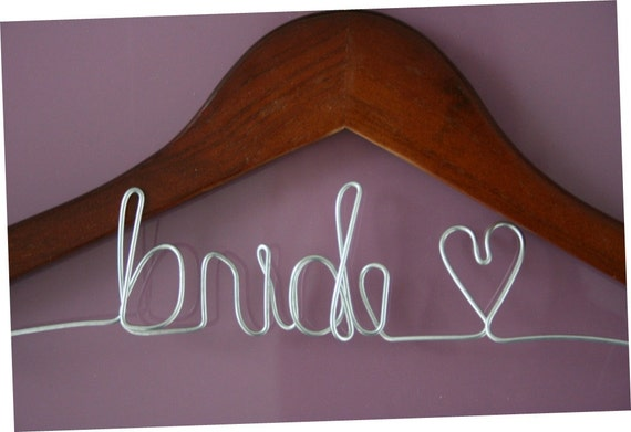 SALE Personalized Wire Hanger