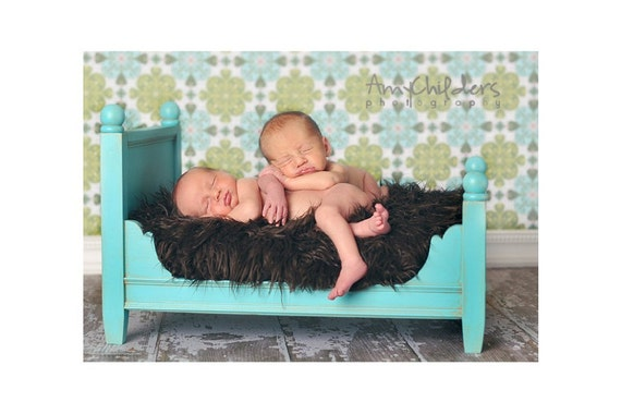 Newborn Photography Prop - Doll Bed - Photo Prop