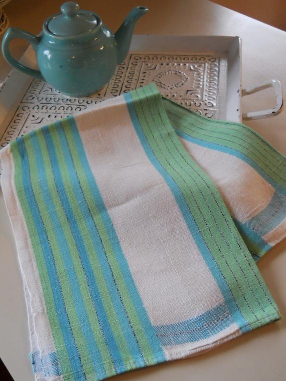 vintage kitchy housewares kitchen tea towel linen