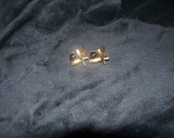 Cuff links Men's  Bowling ball and pins Vintage