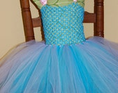 Abby Cadabby Inspired Tutu Dress