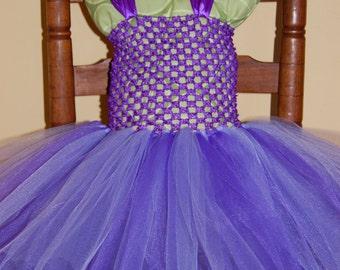 Purplicious Tutu Dress