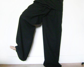 long fihserman pant-black
