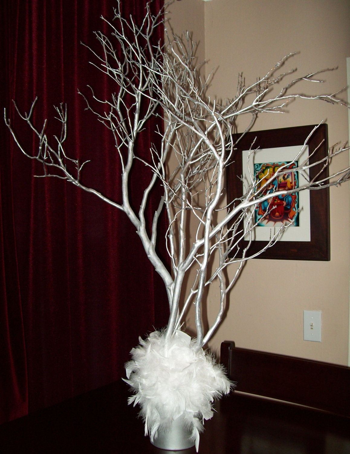 Manzanita branches branch centerpiece by