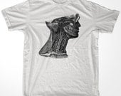 Neck Anatomy Vintage men & ladies t-shirt (id5512)