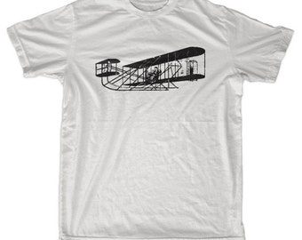 Vintage Airplane men & ladies t-shirt (id6008)