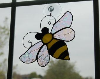 Stained Glass Bee