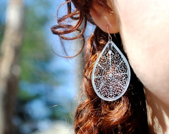 Lovely Lace Earrings