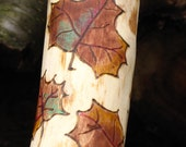 Fall Leaves Walking Stick