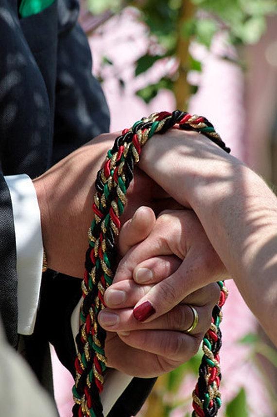 Custom Handfasting Cord Celtic Handfasting Weddings Or Vow