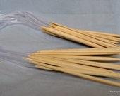 24 Inch Circular Bamboo Knitting Needles - Sizes 0 1 2 or 3