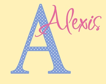 Personalized Name Decal Childrens