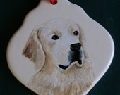 Custom hand painted ornaments of your pet