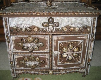 Incredible Seashell Dresser