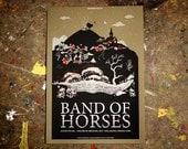 Band of Horses Poster (TLA - Philadelphia, PA 2011)