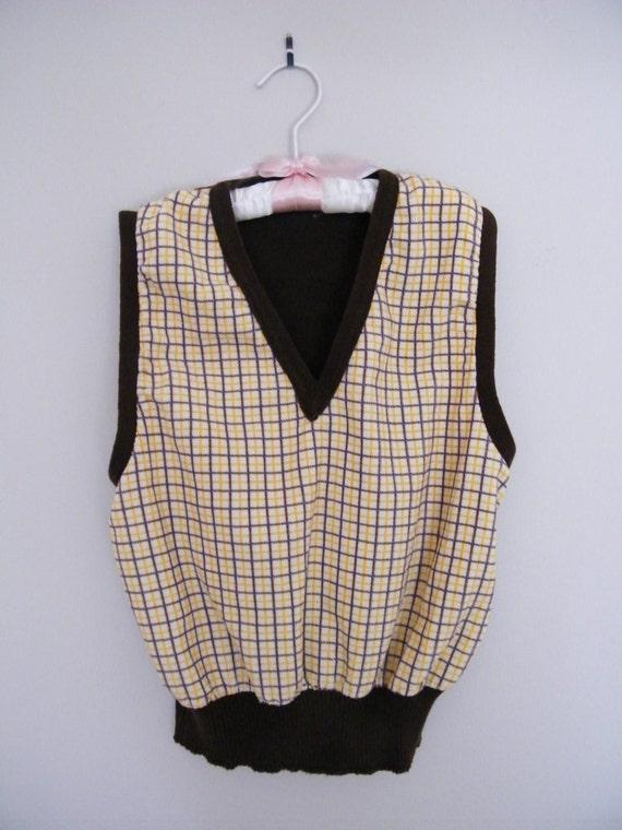 Vintage 1950s Boys Sweater Vest
