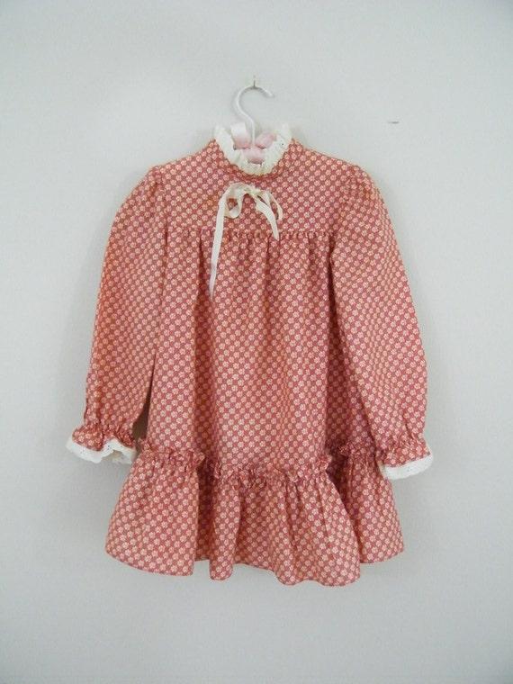 Vintage Girls Prairie Dress
