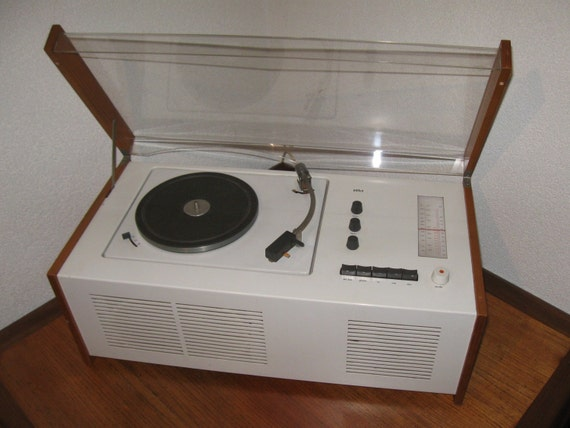 Electrophone SK55, Dieter Rams 1956, Snow White's coffin..