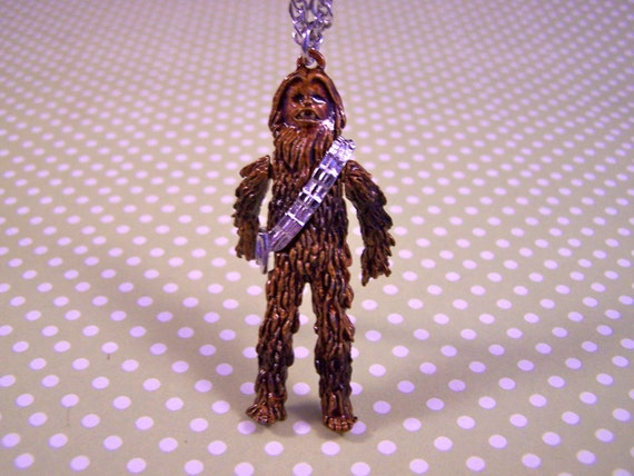 Vintage Chewbacca Star Wars Necklace