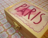 Paris Rubber Stamp Set of 4