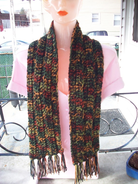 Multi Colored Adult Scarf