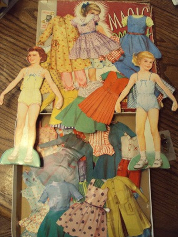 magic mary and mary ann paper dolls